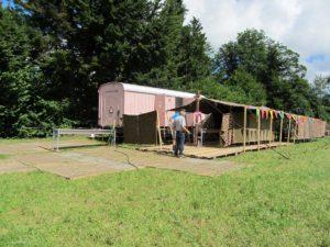 Jugendlager sanitäre Anlagen