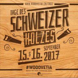 Tage des Schweizer Holzes Flyer