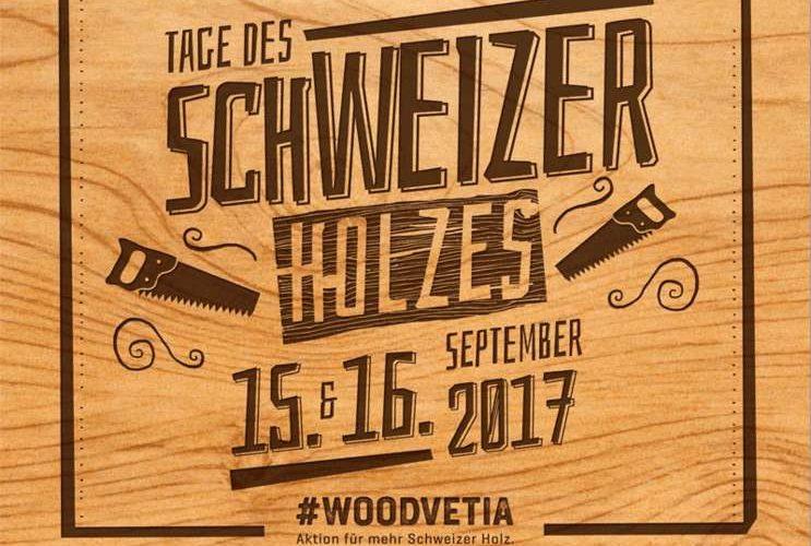 Tage des Schweizer Holzes 15. & 16.9.