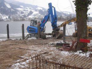 Piste poids lourds ecotruck pour excavatrices