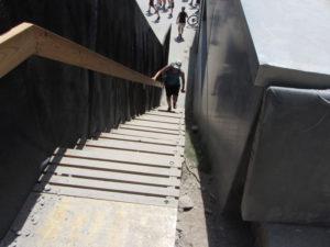 Lenzerheide modulare Holztreppe