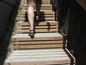Holztreppe Passareco Lenzerheide