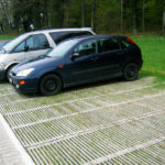 Parking durable en bois ecopark