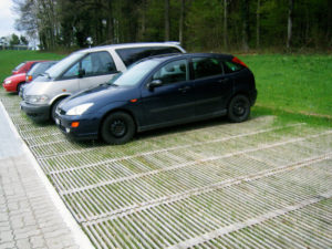 Parking durable en bois ecopark