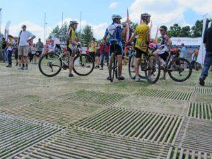 MTB Rennen Zuschauerbereich