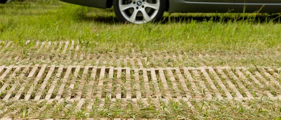 Wiesenschutz Parkplatz Pratteln mit ecopark