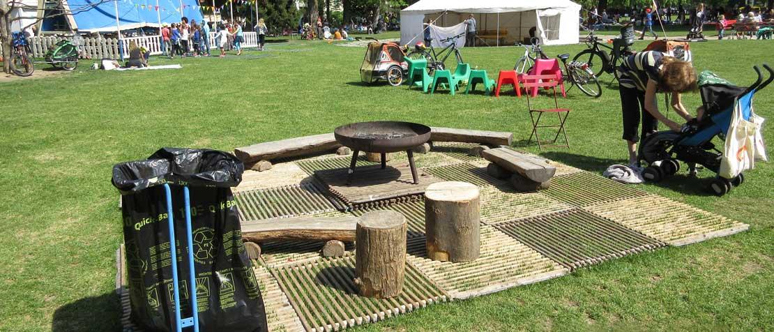 Grünflächenschutz Öffentlicher Park Basel