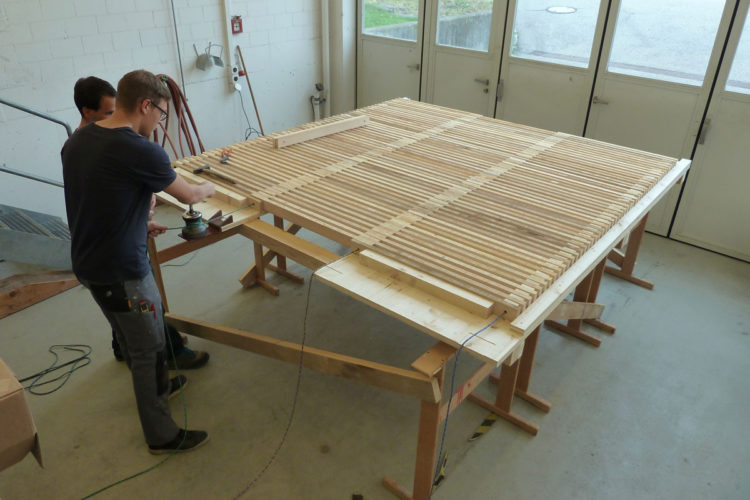 Holzroste auch im Lizenzmodell