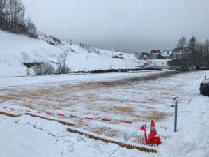 Winterparkplatz Luftseilbahn Wasserauen-Ebenalp
