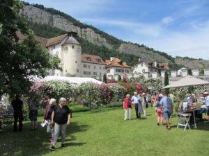 festival des jardins du château de Haldenstein