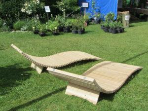 La chaise longue ecolounge vue arrière