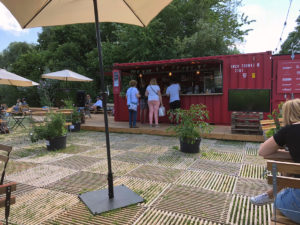 container aare bar berne avec ecoplate