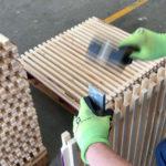 Fabrikation von Hand ecoplate Bodenschutz
