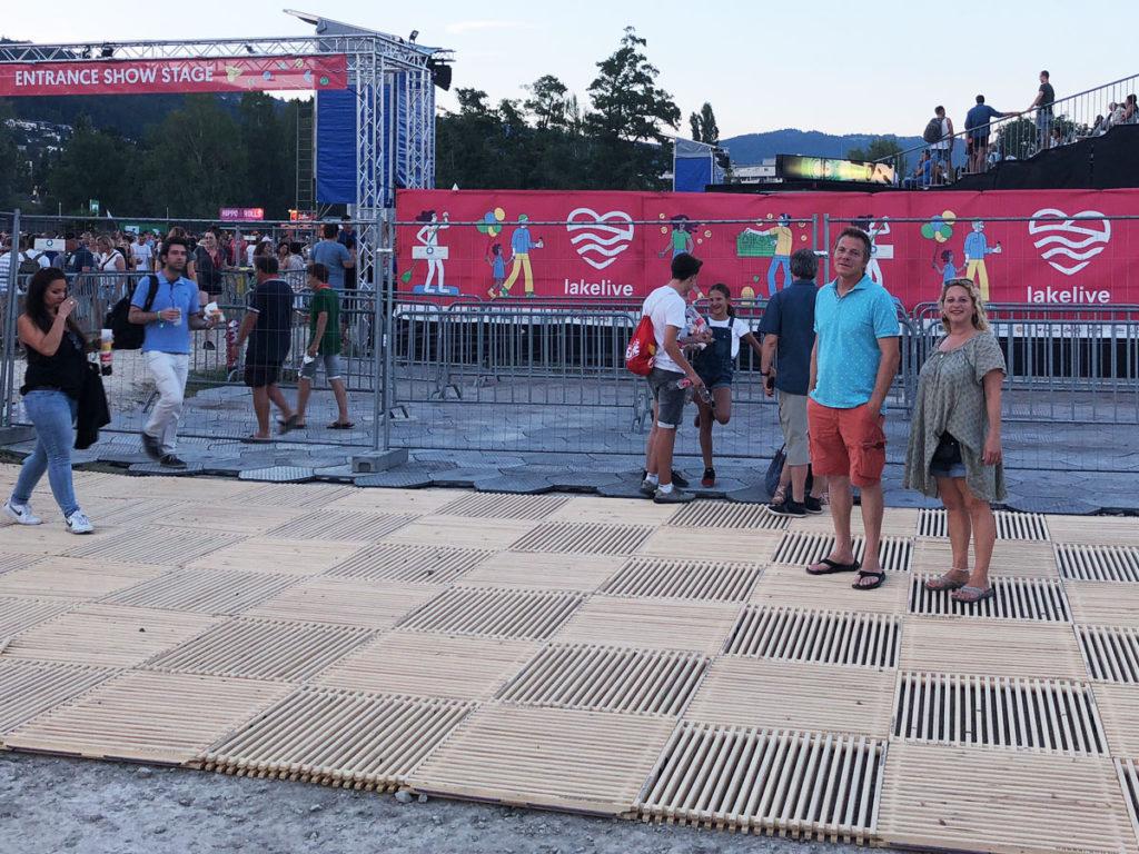 Lakelive Festival Biel ecoplate Publikumsweg