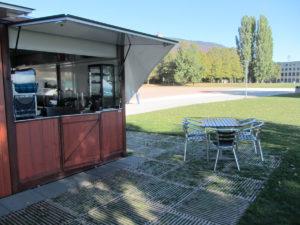 Protection du sol ecoplate par Passareco Jeunes-Rives Neuchâtel