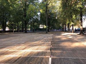 Petersplatz Basel Bodenschutz von Passareco für Herbstmesse
