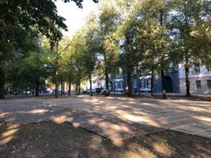 Petersplatz Basel ecopark als Bodenschutz
