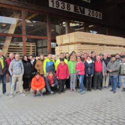 Halbzeit 1740 Holzroste für das ETF 2019 in Aarau - Team