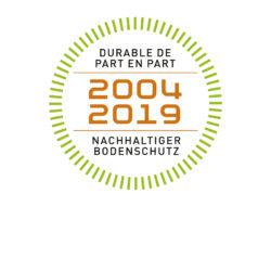 15 Jahre Passareco Nachhaltiger Bodenschutz Durable de part en part