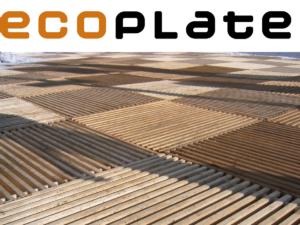 ecoplate – chemins piétons et places publiques