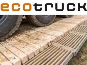ecotruck – Befestigung von Schwerlastpisten