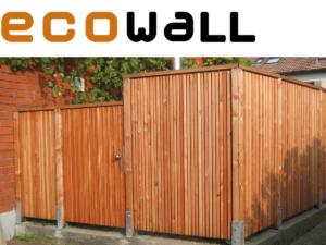 ecowall Sichtschutz-Elemente