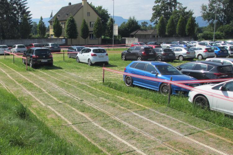 Parkings provisoires – rapidement et facilement