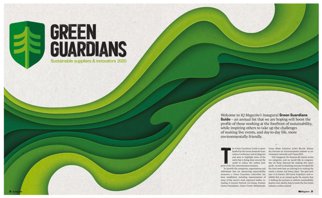 Green Guardians sustainable suppliers & innovators 2020 - Green Guardians Guide